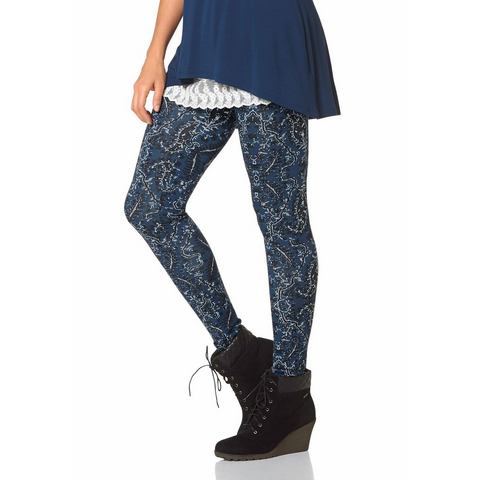 BOYSEN'S Legging met paisleymotief allover