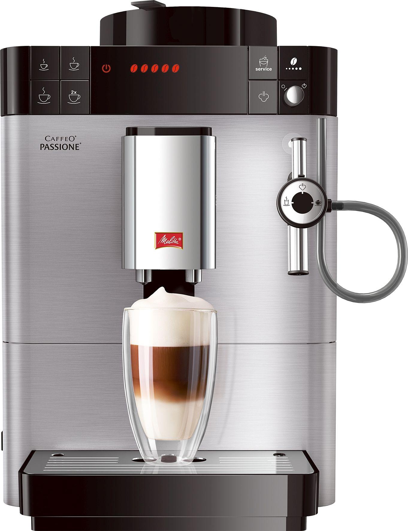 Melitta volautomatisch koffiezetapparaat Caffeo Passione, edelstaal online kopen op otto.nl
