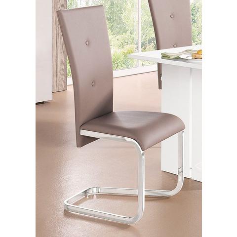 Eetkamerstoelen Vrijdragende stoel in set van 2 of 4 518959