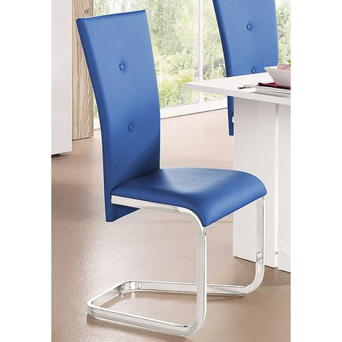 Eetkamerstoelen Vrijdragende stoel in set van 2 of 4 337902