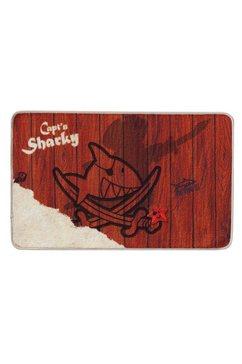 mat, capt'n sharky, »h-304«, met antislip-coating bruin