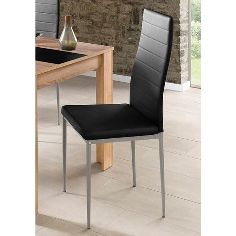 Steinhoff Vrijdragende stoel in set van 2 of 4