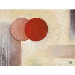 home affaire artprint »abstract ii« beige
