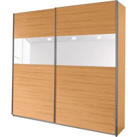 Kledingkasten RAUCH Zweefdeurkast met glas of spiegels 487905
