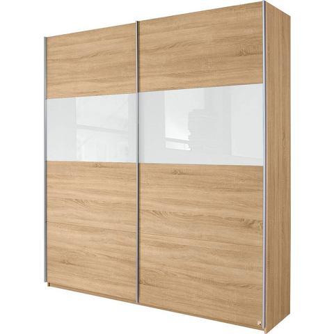 Kledingkasten RAUCH Zweefdeurkast met glas of spiegels 204609