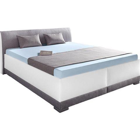 MAINTAL Bed met of zonder bedkist Bonell binnenveringsmatras H2 wit Maintal 344223