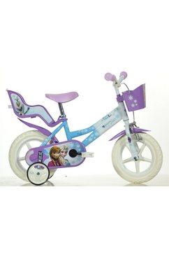 kinderfiets voor meisje, 12 inch, 1 versnelling, »Frozen«