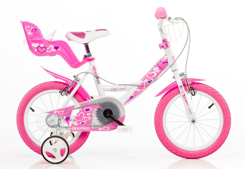 Dino kinderfiets voor meisjes, 16 inch, 1 versnelling, »Girlie« nu online bestellen