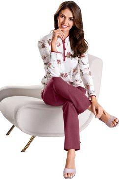 arabella pyjama in single-jerseykwaliteit beige