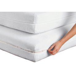 matrasbeschermer, dormisette wit