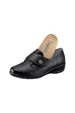 soft line schoenen met klittenband zwart