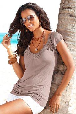 lascana shirt bruin