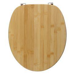toiletzitting »bamboe« beige