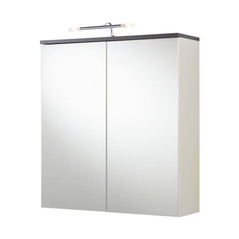 kast Sevilla witte badkamer spiegelkast 34