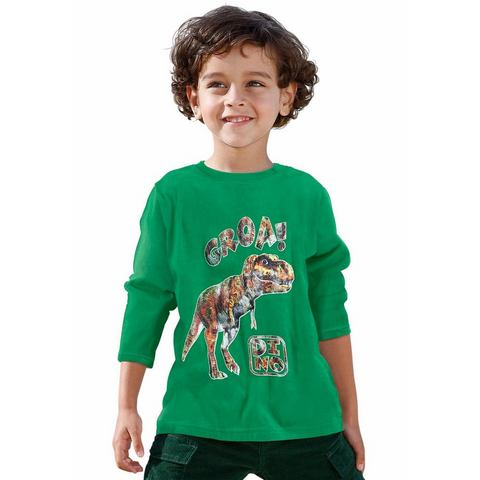 CFL Shirt met lange mouwen en dinosaurusprint