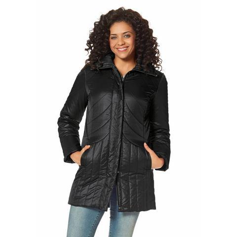BOYSEN'S Doorgestikt jasje met licht glanseffect