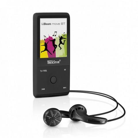 TrekStor® MP3-speler, MP4-speler 8 GB Zwart, Bluetooth, Spraakopname