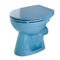 cornat staand toilet blauw