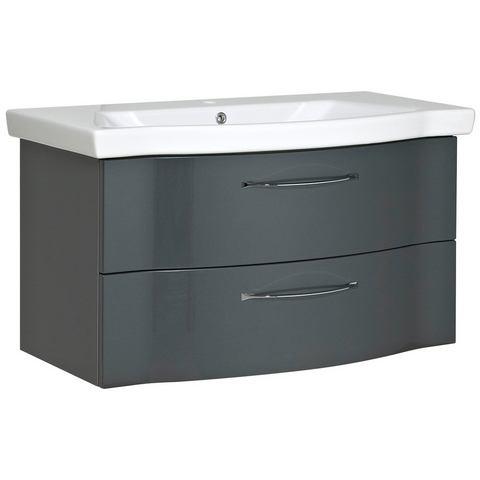 Pelipal Onderkast »Solitaire 6005« zwarte badkamer onderkast 335