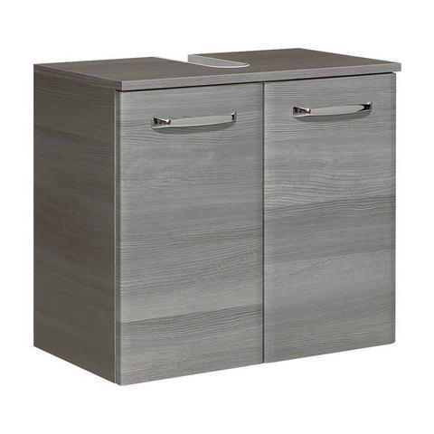 Wasbakonderkast »Alika« grijze badkamer onderkast 110