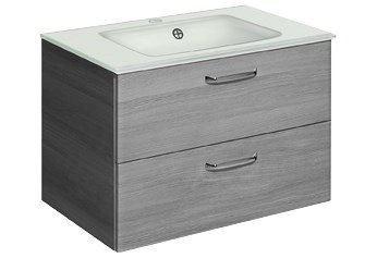 Wasbakonderkast »Alika« grijze badkamer onderkast 147
