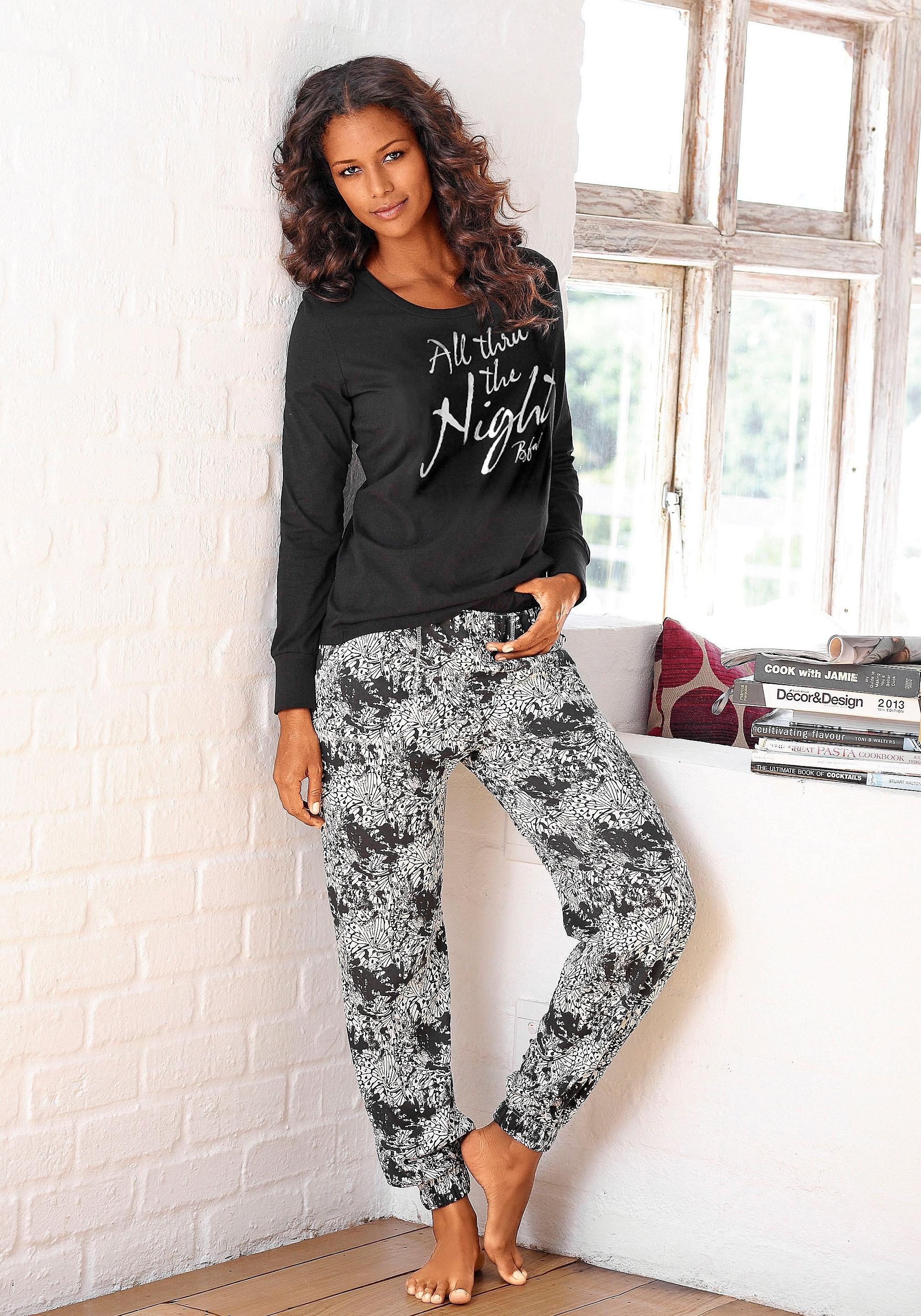 Buffalo pyjama, gedessineerde broek met steekzakken goedkoop op otto.nl kopen