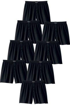 boxershort, set van 8, le jogger zwart