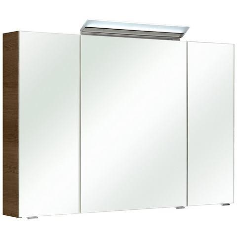 kast FILO bruine badkamer spiegelkast 61