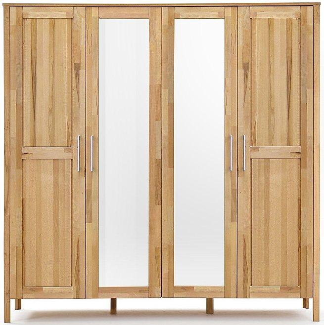 HOME AFFAIRE garderobekast Modesty I, in 3 breedten, naar keuze met spiegel