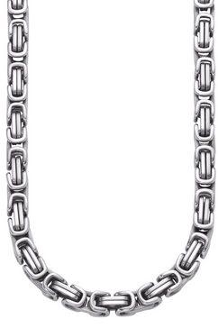 firetti koningsketting van massief edelstaal zilver
