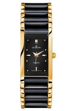 dugena, horloge, '4460591' zwart