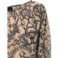 linea tesini by heine gedessineerde blouse bruin
