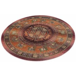 oriental weavers rond vloerkleed gabiro pazyryk blauw