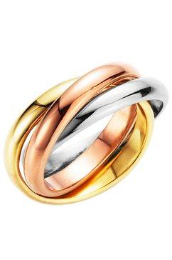 firetti ring drievoudig verstrengeld, tricolour multicolor