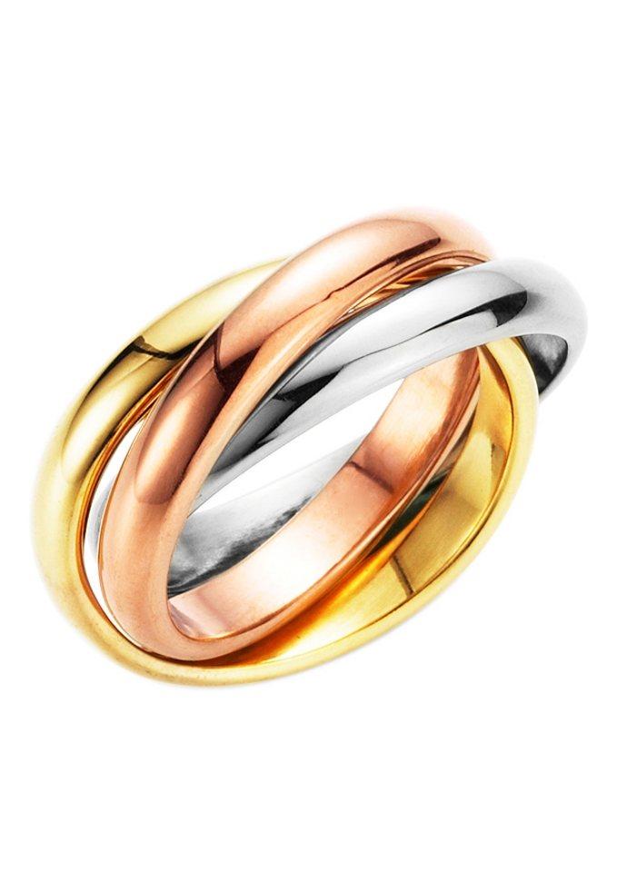 FIRETTI ring tricolour (3-dlg.)