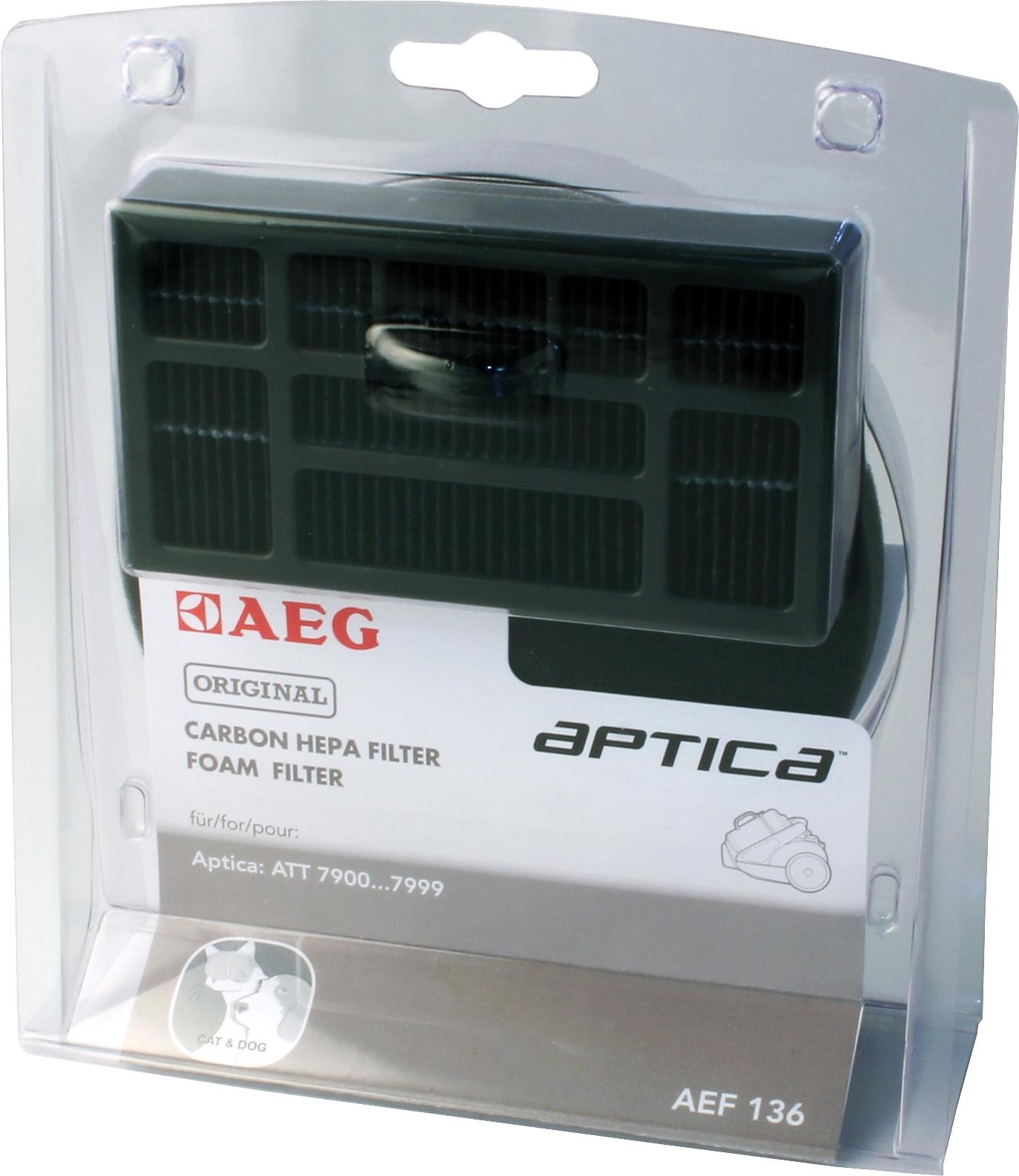 AEG HEPA-filter AEF 136 - verschillende betaalmethodes