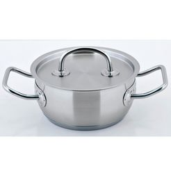 cs-solingen braadpan pro-x inductie (1-delig) zilver