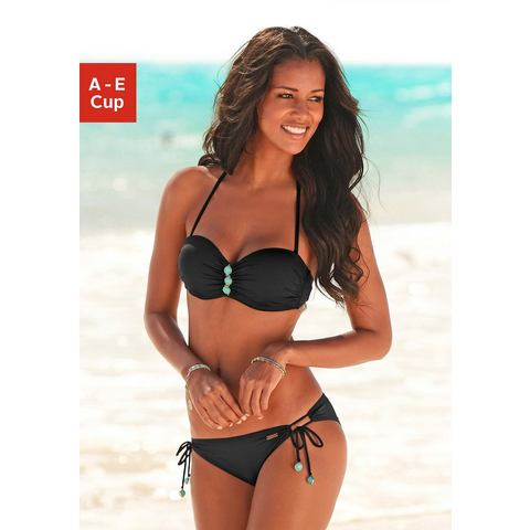 LASCANA Beugelbikini in bandeaumodel (2-delig)