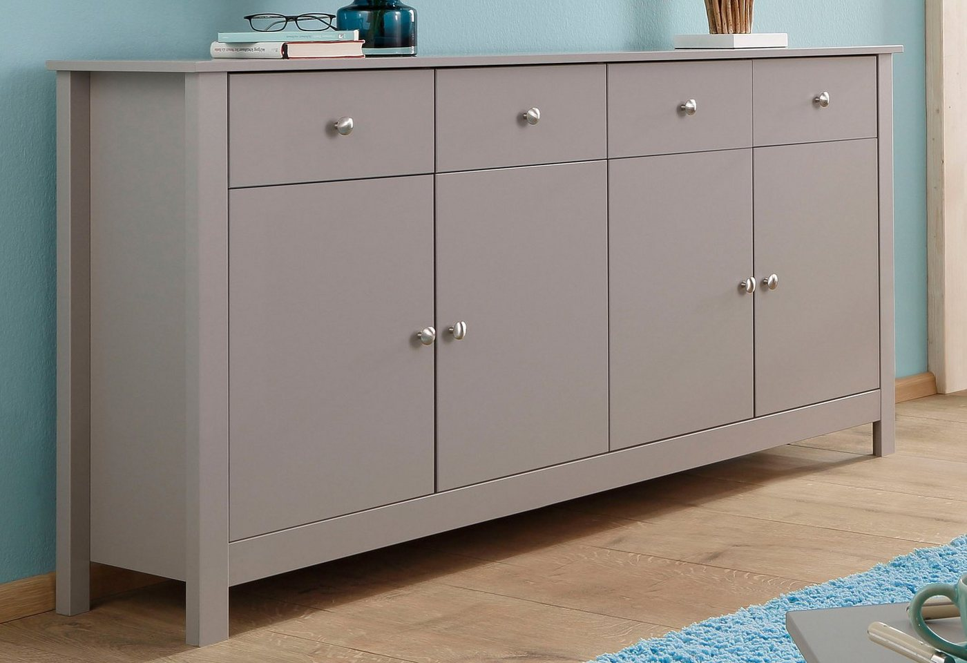 HOME AFFAIRE sideboard »Justin«, breedte 156 cm