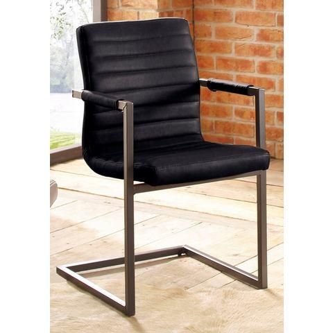 Eetkamerstoelen HOME AFFAIRE Vrijdragende stoel Parzival 407041
