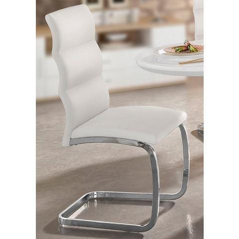 Eetkamerstoelen Vrijdragende stoel in set van 2 of set van 4 413786