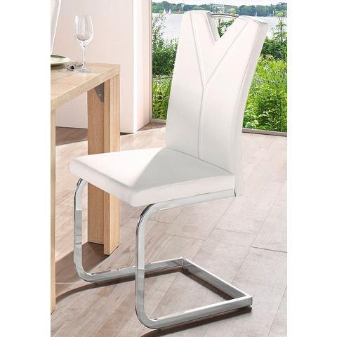 Eetkamerstoelen Vrijdragende stoel in set van 2 of set van 4 504885