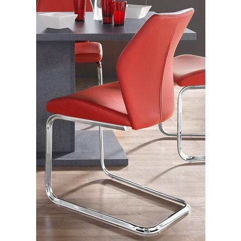 Eetkamerstoelen Vrijdragende stoel in set van 2 of 4 717438