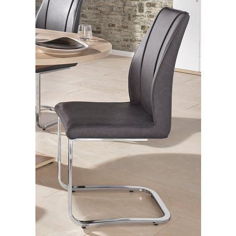 Eetkamerstoelen Vrijdragende stoel (set van 2 en set van 6) 739614