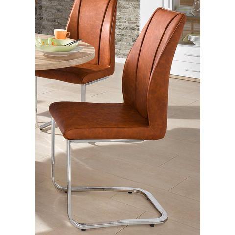 Eetkamerstoelen Vrijdragende stoel (set van 2 en set van 6) 747133