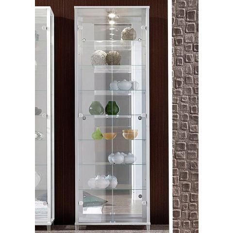 Kasten  vitrinekasten Vitrinekast met spiegelachterwand  7 glasplateaus 648565