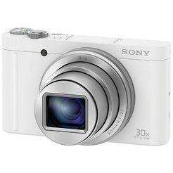 sony superzoomcamera cyber-shot dsc-wx500 30x optische zoom wit