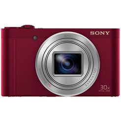 sony superzoomcamera cyber-shot dsc-wx500 30x optische zoom rood