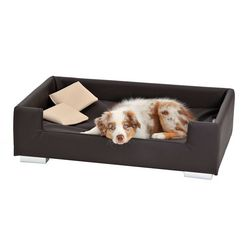 silvio design honden- en kattenbankje »candy« bruin