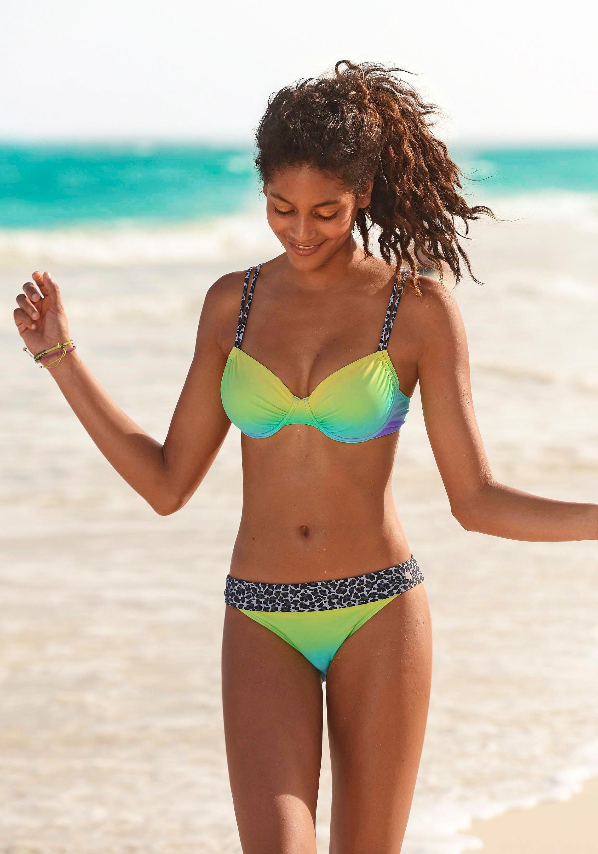 KangaROOS Beugel-bikini in batik-look (2-delig) bij OTTO online kopen
